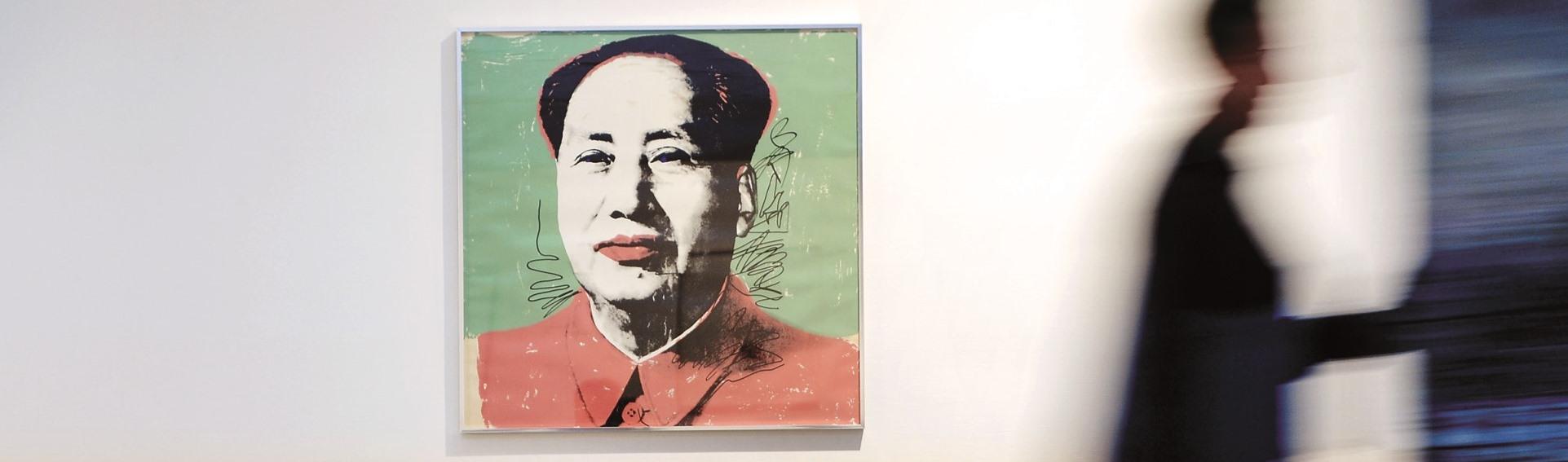 Andy Warhol, Mao, Swanljungin kokoelma _Swanljungs samling, 1972_foto Mikko Lehtimäki